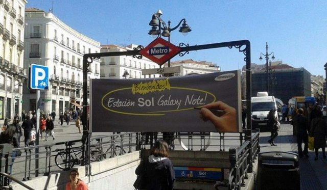 Pr�xima estaci�n: Sol Galaxy Note