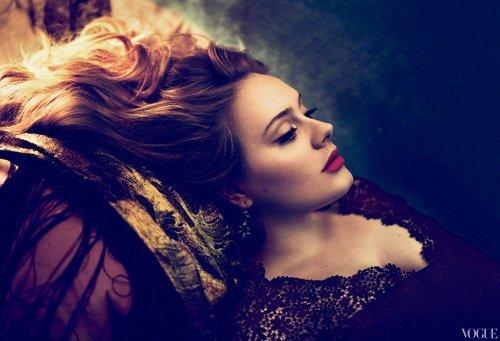 Adele para Vogue