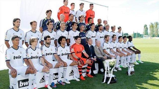 El Real Madrid se hace la foto oficial de la temporada�