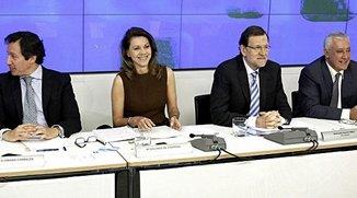 El presidente del Gobierno en la junta directiva nacional del PP ha puesto fecha a la salida de la crisis española: El año 2014