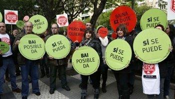 "El Ministerio del Interior ha prohibido utilizar el término ""escrache"""