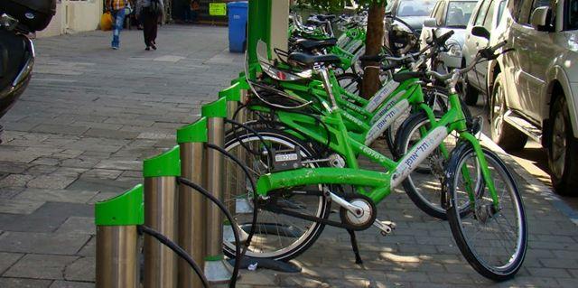 Bicimad arranca en mayo hora punta - Anclaje para bicicletas ...