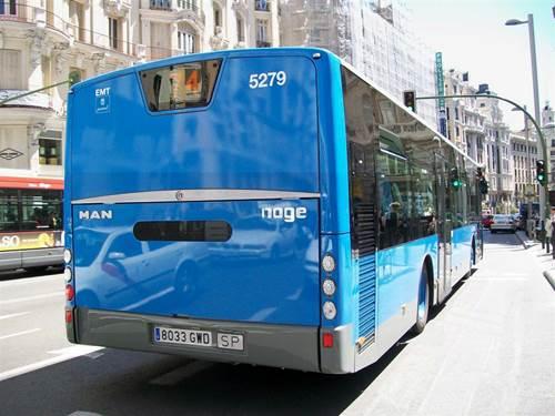 Nuevo servicio de autobuses en Valdebebas