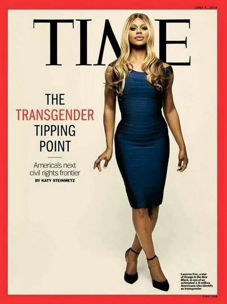 Primera portada del TIME para una transexual