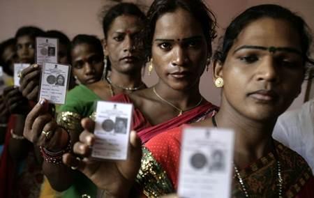 La India reconoce el tercer género