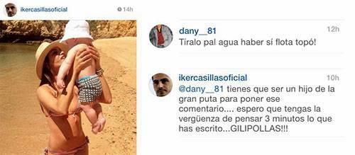 Iker Casillas estalla