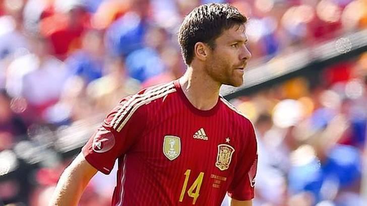 Xavi Alonso se 'despide' de España