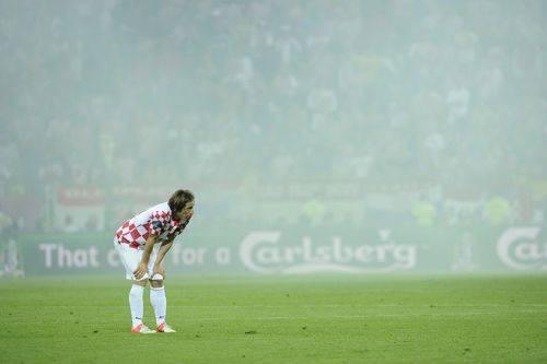 Modric se lesiona ante Italia