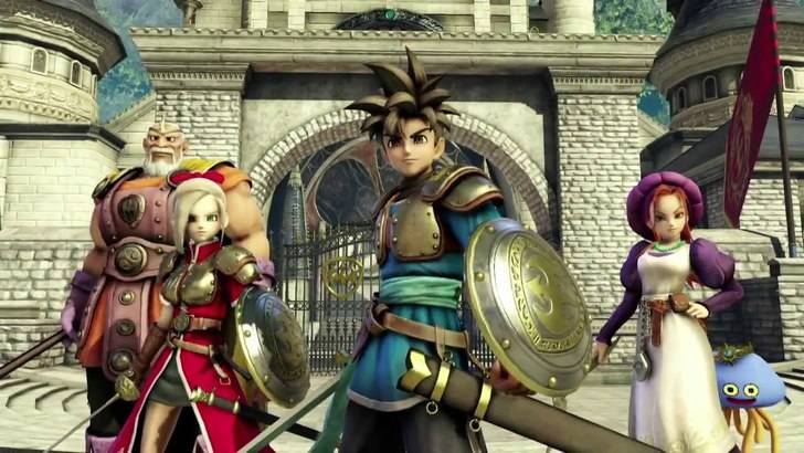 Dragon Quest Heroes confirmado para Europa