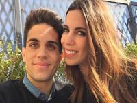 La grata sorpresa de Marc Bartra y Melissa Jiménez
