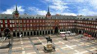 La Plaza Mayor se pinta la cara