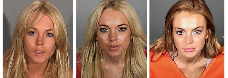 Lindsay Lohan está en un buen aprieto