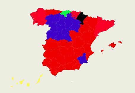 El poder local cambia de piel en España