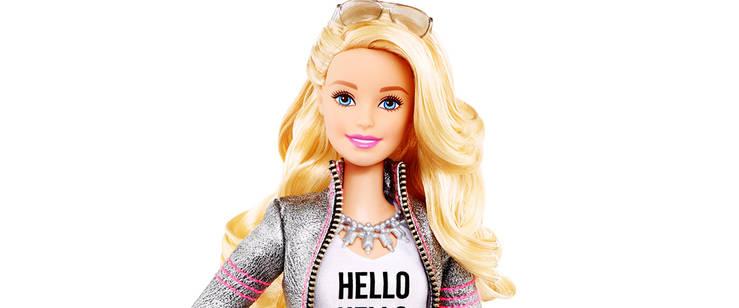 Barbie se ha bajado de los tacones…