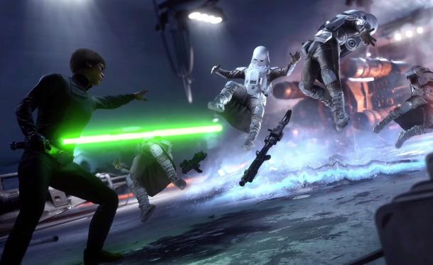 El gameplay definitivo de Star Wars Battlefront