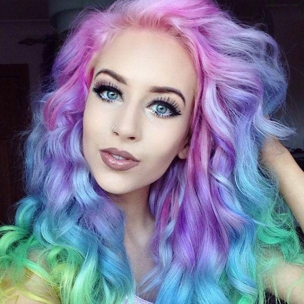 Rainbow hair... ¡Atrévete!