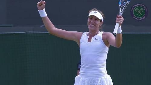 Muguruza se mide ante Serena Williams en la final de Wimbledon