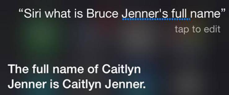 Siri vuelve a hacer de las suyas