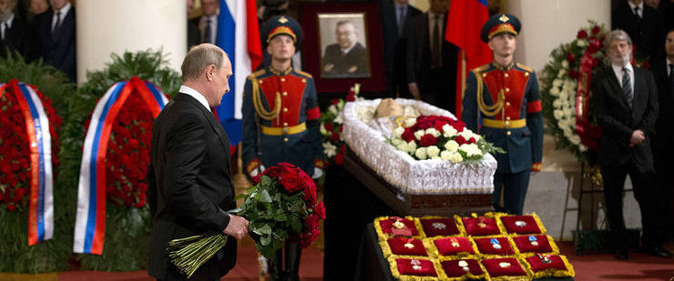 """Muere Primakov, el """"padrino"""" de Putin"""