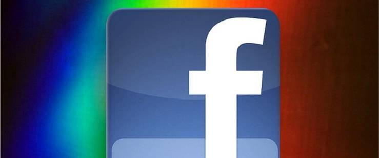Facebook se llena de color