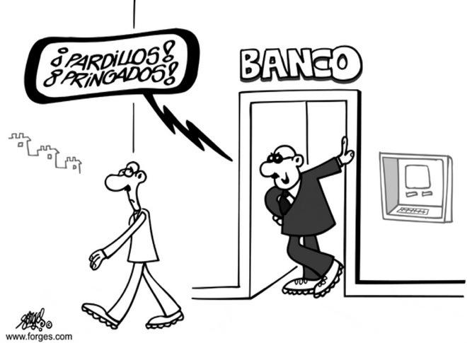 ¿Qué harían los bancos sin sus comisiones?
