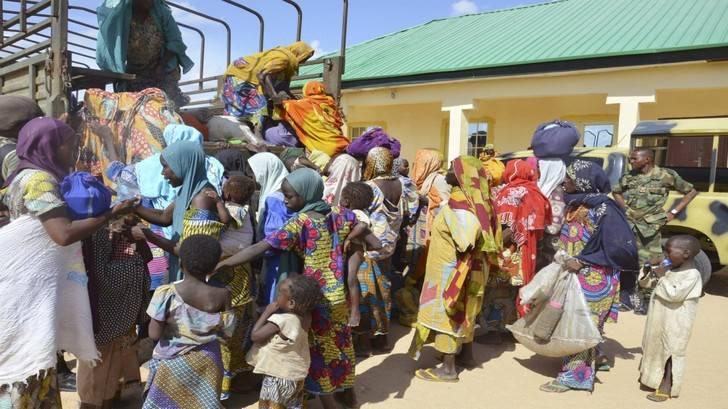 Liberan 101 niños y 67 mujeres de las garras de Boko Haram