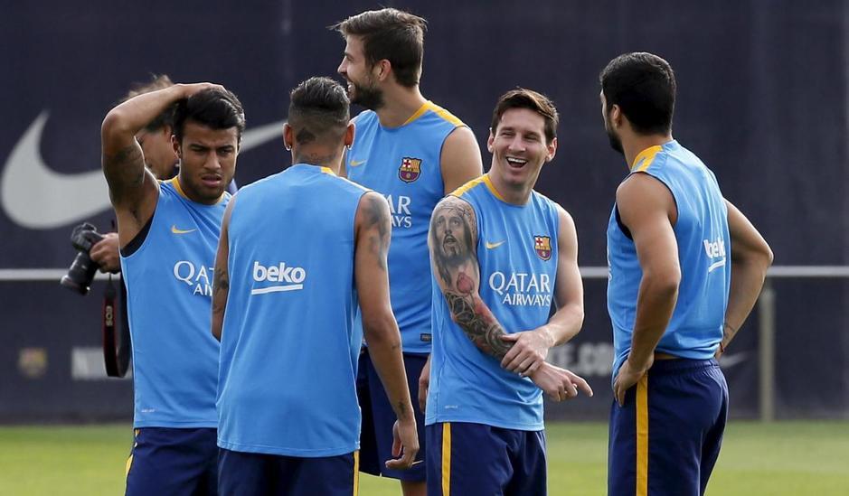 Messi y Neymar llegan a tiempo para el Gamper