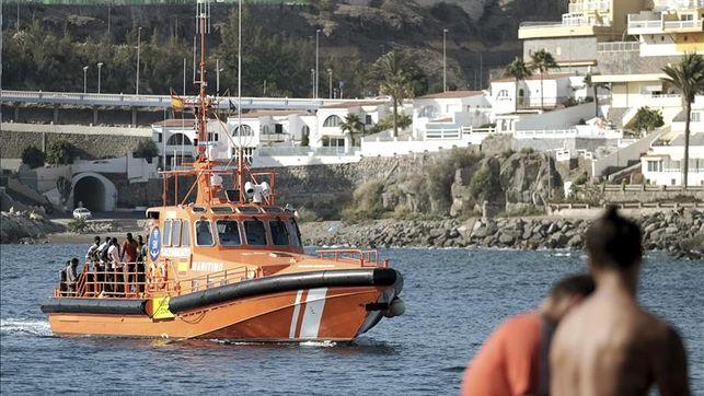 Marruecos rescata 16 subsaharianos en dos pateras