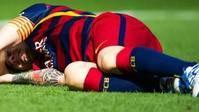 Leo Messi, fuera de combate durante dos meses