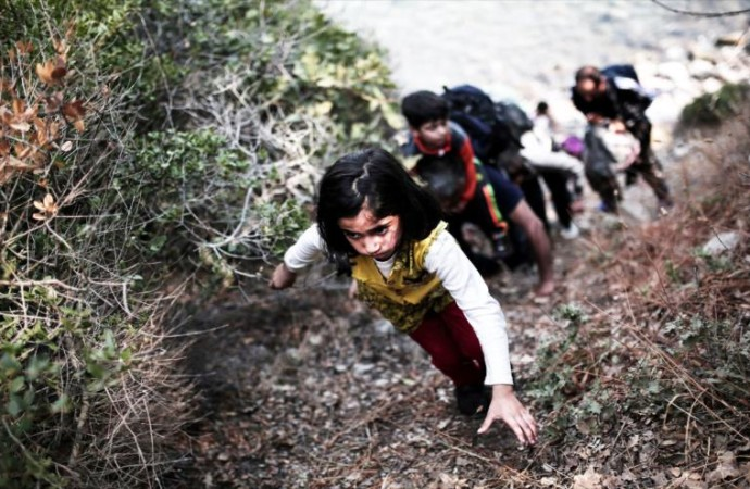Cien mil solicitantes de asilo en Europa son niños