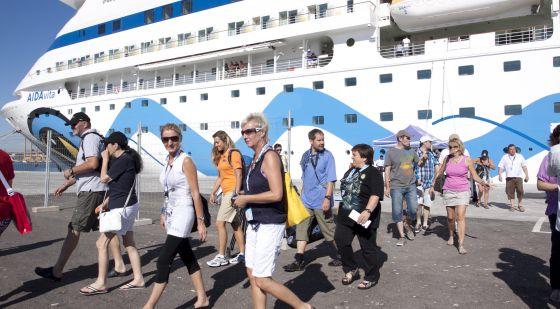 España recibe hasta agosto más de 4 millones de cruceristas
