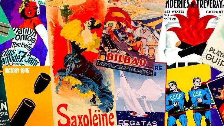 Historia del arte y la publicidad en forma de cartel