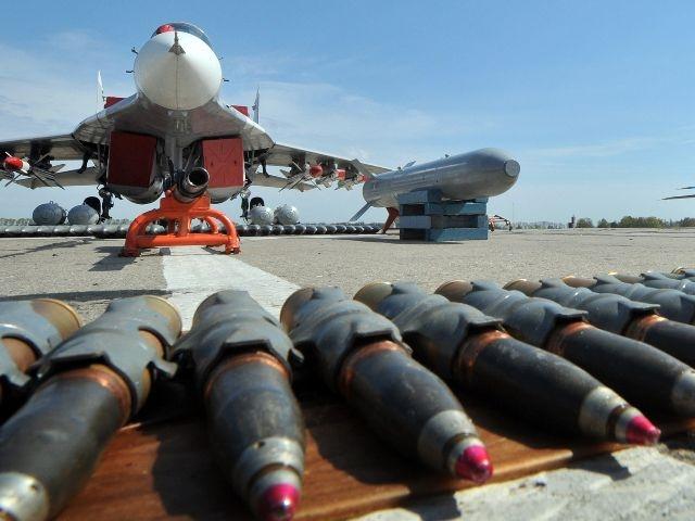 Rusia bombardea a los rebeldes