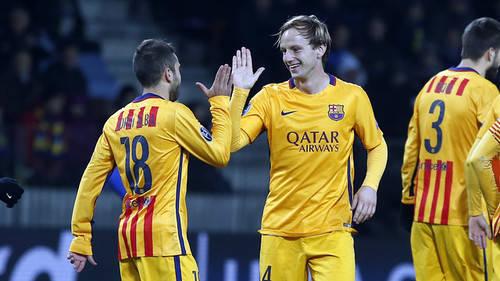 El Barça se impone 0-2 al Bate Borisov