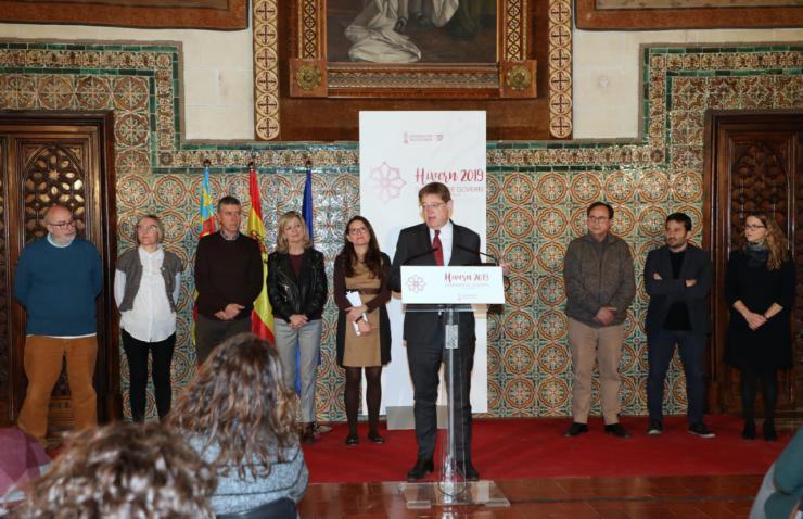 Puig: 'Hemos reconstruido social y económicamente la Comunitat Valenciana y sentado las bases para una nueva legislatura de progreso'