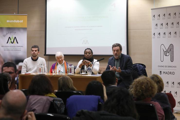 Madrid recibe a las primeras defensoras de derechos humanos del Programa de Acogida Temporal del Ayuntamiento