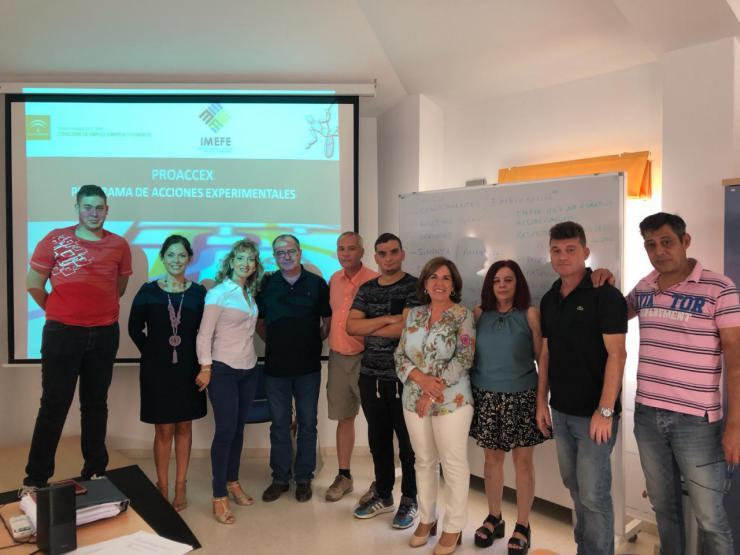 El Ayuntamiento de Jaén imparte un curso de Operaciones Auxiliares de Almacenaje