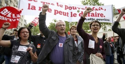 Francia vive una huelga general en plena Eurocopa