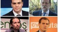 Mariano Rajoy y Pedro Sánchez, ¿en tu casa o en la mía?