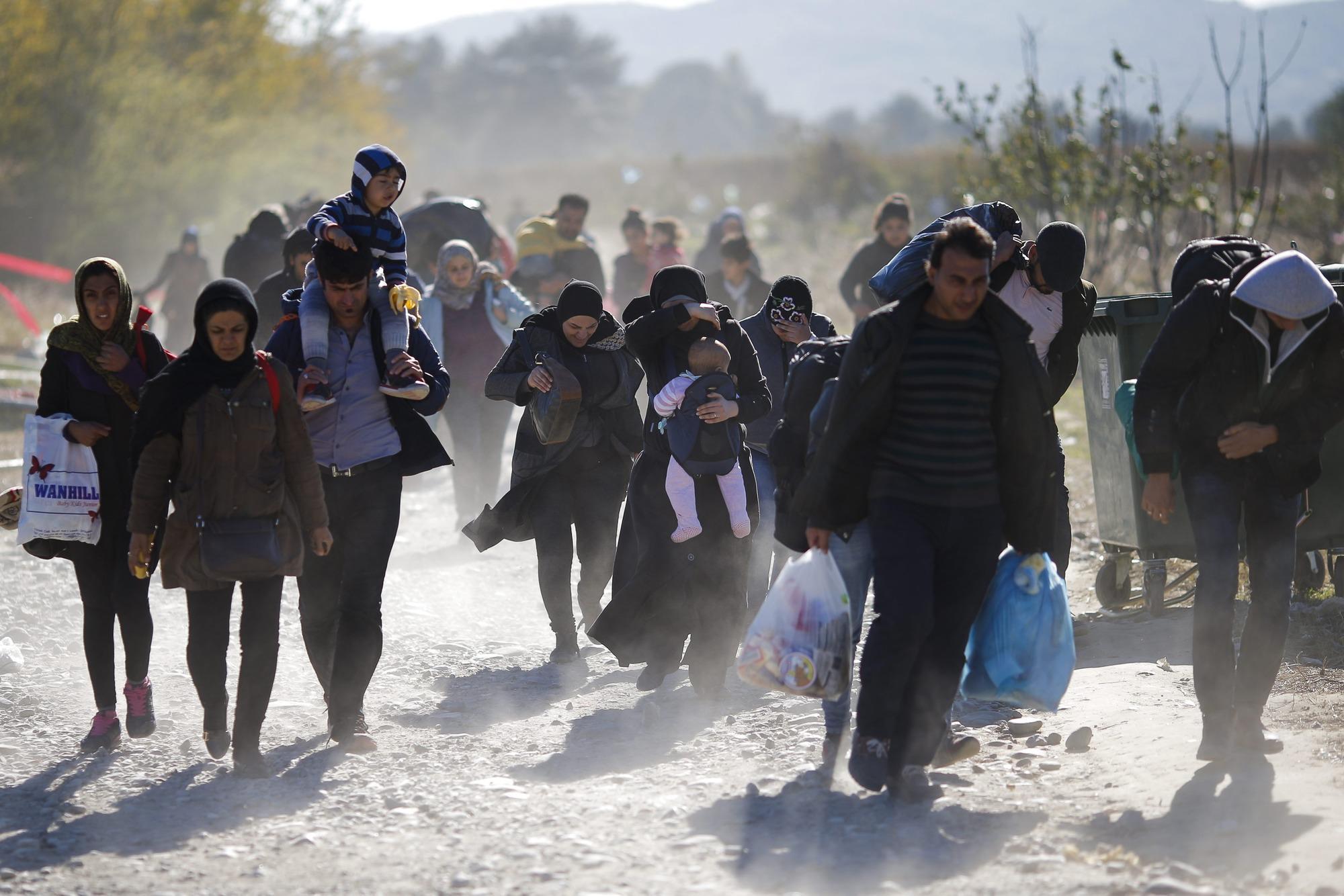 Más de 20 millones más de refugiados en seis meses