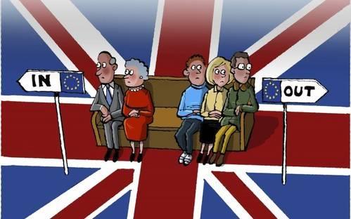 Todos mirando a Gran Bretaña