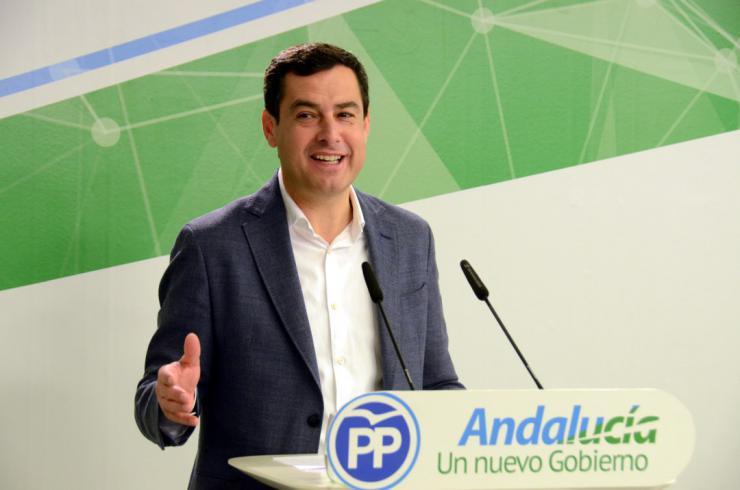 """Moreno: """"Salimos a ganar con el revulsivo de haber hecho historia en Andalucía"""""""
