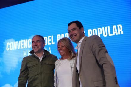 """Moreno: """"El gobierno andaluz cumple al cien por cien, más de cien iniciativas en cien días"""""""