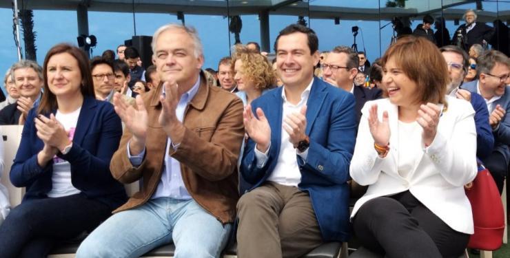 """Moreno ve """"paralelismos"""" entre Díaz y Puig, que """"también acabará en la oposición"""""""