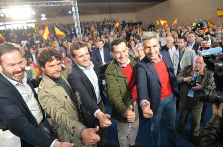 """Juanma Moreno: """"El PP dejará Andalucía con los mismos impuestos que la Comunidad de Madrid"""""""