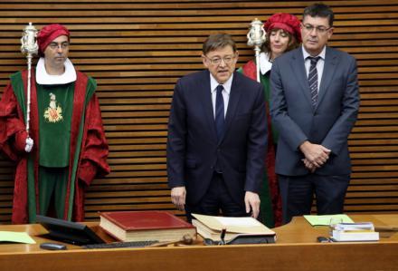 """Ximo Puig: """"La solución al problema de la financiación es irrenunciable, inaplazable e imprescindible"""""""