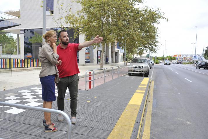 Castellón concluye la instalación de plataformas para mejorar la accesibilidad en paradas de bus
