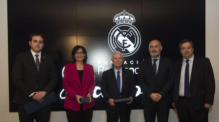 El Ayuntamiento y la Fundación Real Madrid renuevan su convenio de colaboración para la Escuela de Fútbol en el Polideportivo El Pradillo