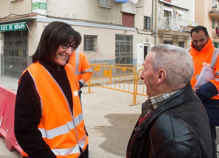 Las obras para la rehabilitación del céntrico Barrio de las Flores de Pozuelo avanzan a buen ritmo