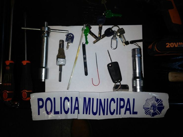 Detenidos dos hombres tras una persecución en Pozuelo
